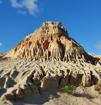 Mungo unique clay formations - Mungo National Park