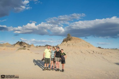 Mungo National Park - Lunette Guided Tour