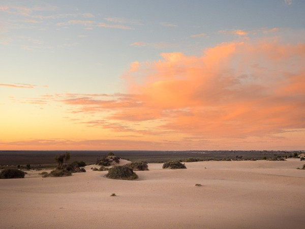Beautiful Mungo Sky